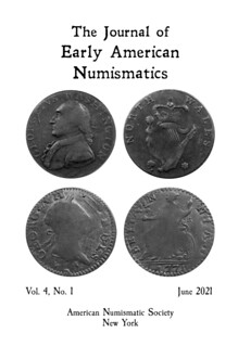 Journal of Early American Numismatics JEAN 2021 June issue cover