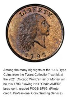 Tyrant 1793 Chain Cent