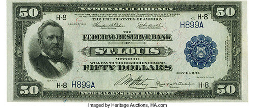 $50 1918 Federal Reserve Bank Note