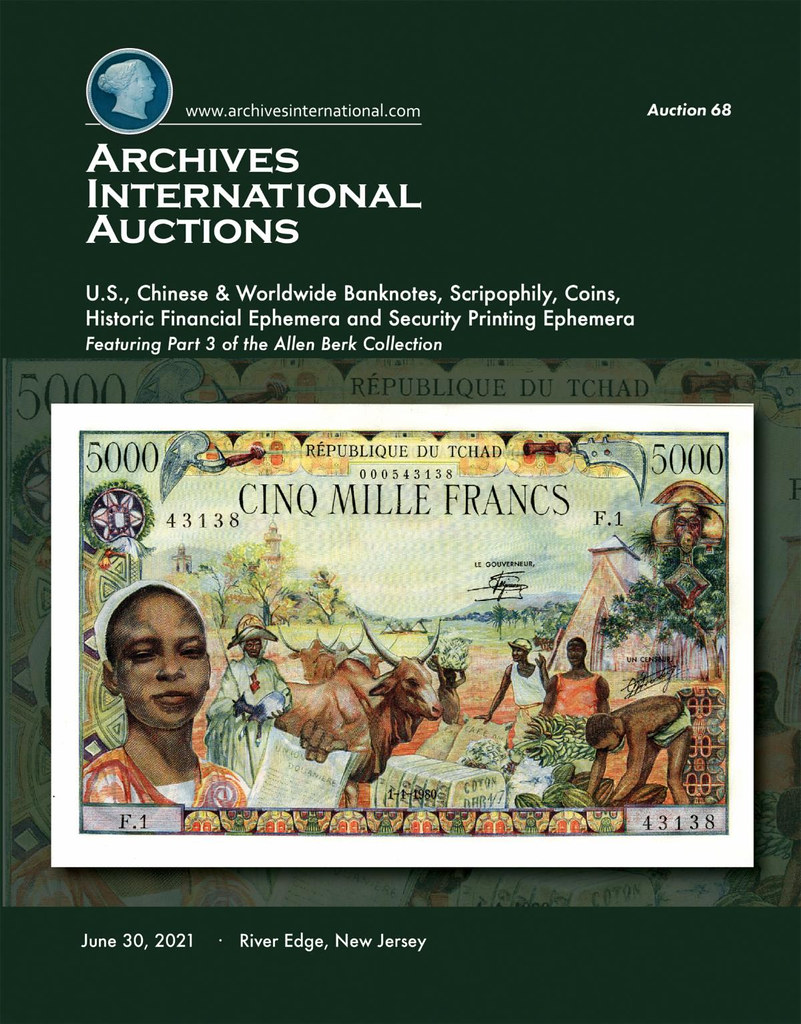 Archives International Sale 68 cover front