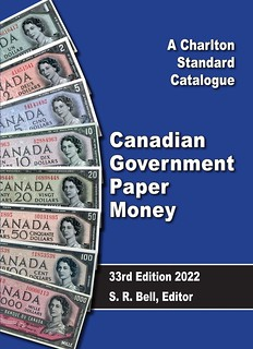 Canadian Government Paper Money English 33rd ed cover