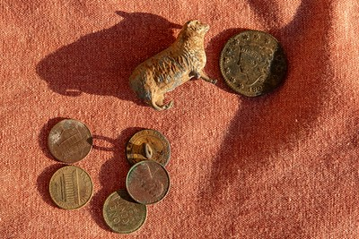 Nikoline Bohr metal detecting finds