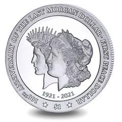 Pobjoy Morgan Peace anniversary design
