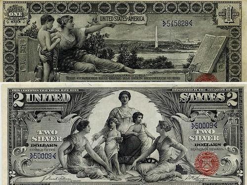 1896 silver certificates