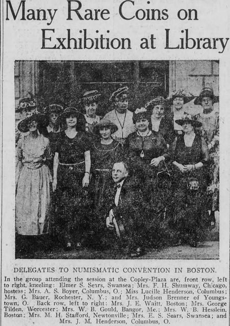 1921 BOSTON ANA PHOTO
