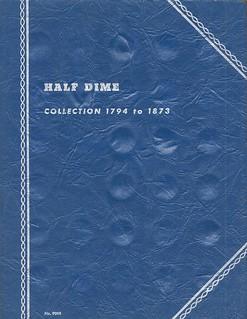 Whitman Half Dime folder W5cA1 cover s