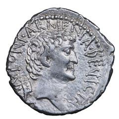 Mark Antony silver denarius
