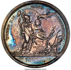 1801 Thomas Jefferson Inaugural Medal, Silver, MS62 NGC. Eidlitz-1, Julian-PR-2, DeWitt-TJ-1800-1_Heritage_Auctions_2