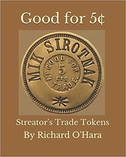 Good for 5¢ Streator's Trade Tokens book cover