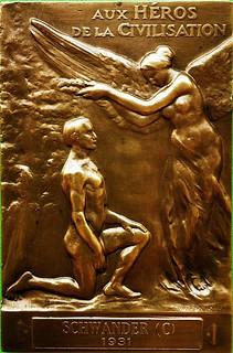 1931 French Carnegie Hero Medal obverse