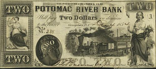 Georgetown, DC - Potomac River Bank $2