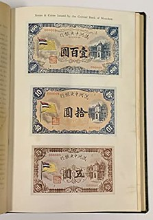 Book Central Bank of Manchou 1935