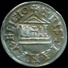 Poland Carolingian coin find obverse