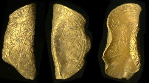 Edward III gold coin find