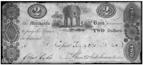 Merchant's Bank of Newport $2