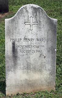 PHILLIP H WARD TOMBSTONE