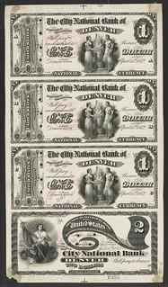 National Bank Note Proofs__Main Set 1 sample