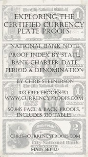 National Bank Note Proofs__Main Set 1 Cover