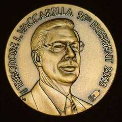 RNA Vacarrella Presidentisl medal