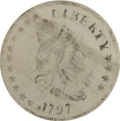 1797 BD-1 Eagle Rubbing Obverse