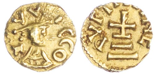 Merovingians, Quentovic Gold Tremissis