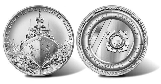 U.S. Coast Guard Silver Medal