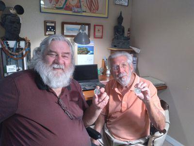 Wayne Hikcs and Bernard von NotHaus