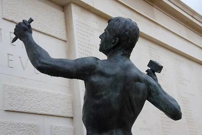 Ian Rank-Broadley statue