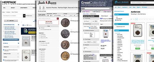Reading auction catalogs