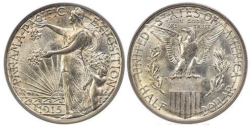 1915-S Panama-Pacific Commemorative Half Dollar