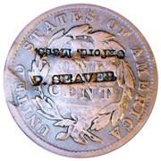 P Seaver counterstamp reverse