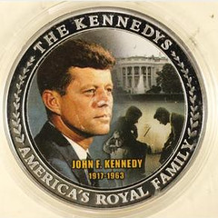 Colorize Kennedy Family Tree medal obverse