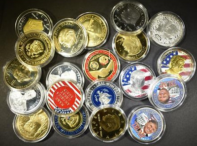 Trump Tokens and Medals