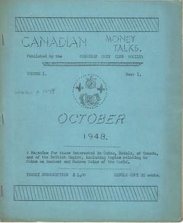 Canadian Money Talks October 1948