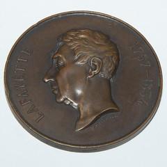 1934 Paris Mint Lafayette Medal obverse