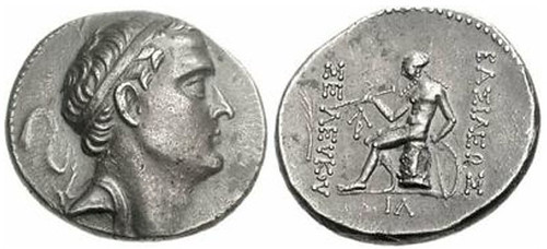 Seleucid Empire Seleucus IV Tetradrachm