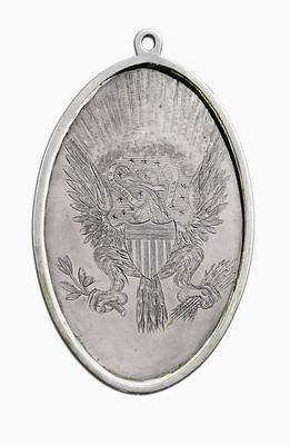 1792 George Washington Indian Peace Medal reverse