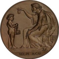 1894 U.S. Assay Commission Medal Reverse