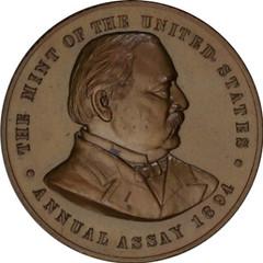 1894 U.S. Assay Commission Medal Obverse