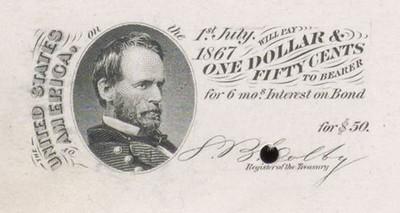 1864 Consolidated Five-Twenty Coupon Bond