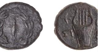 coin found in Judean desert