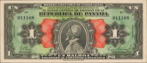Panama One Balboa