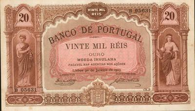 Azores 20 Mil Reis