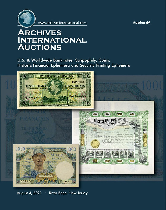 Archives International Sale 69 cover front