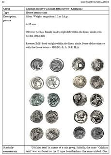 Catalogue Of Georgian Numismatics sample page1
