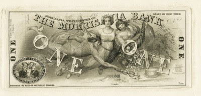 Morrisania Bank proof note