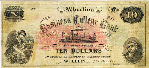 Wheeling Business College Bank-front