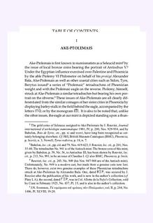 LATE SELEUCID MINTS sample page1