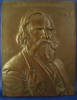 Longfellow Plaque by Flanagan