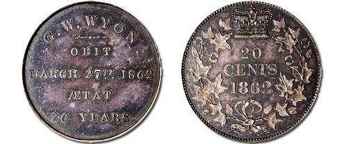 Medallic Memento of George William Wyon